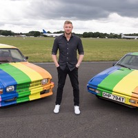 Top Gear cars painted with Pride flags in protest at Brunei anti-LGBT laws