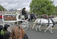 Mourners pay tribute at funeral of Philomena Lynott