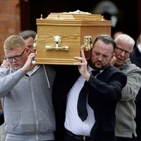 Funeral Mass for balcony fall victim Colin McGarry takes place in Belfast