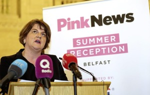 Arlene Foster and DUP not returning to Stormont LGBT event