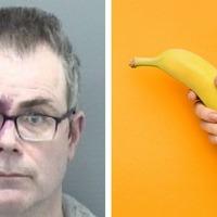 Man jailed after robbing bank with a banana
