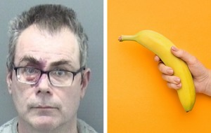Man jailed after robbing bank with a banana