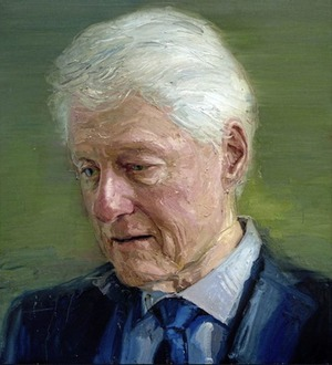 New Bill Clinton painting by Colin Davidson unveiled in New York
