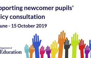 Views sought on newcomer pupils' policy