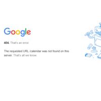 Google Calendar suffers outage