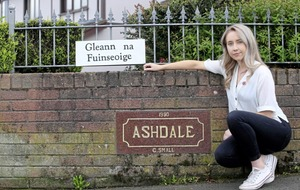 Randalstown Irish language sign 'will not be removed'