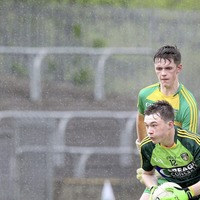 Antrim sharp-shooter Tiarnan McAteer plans to embrace the occasion against Down