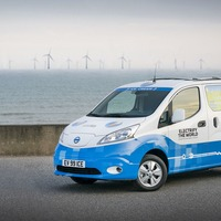 Nissan unveils prototype for zero-emission ice cream van