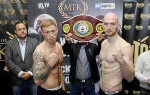 Steven Ward takes on Liam Conroy for the vacant WBO European light-heavyweight title.