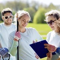 Summer volunteering schemes can help to keep teens productive