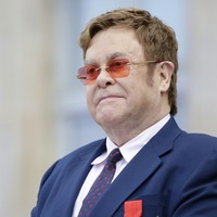 Sir Elton John makes Aids funding plea after receiving France's highest honour