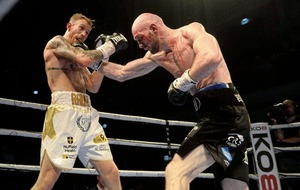 Steven Ward battles back from the brink to claim WBO Euro crown