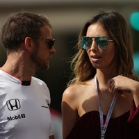 Brittny Ward reveals Jenson Button burst into tears at news of her pregnancy