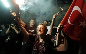Turkish opposition celebrates after win against Erdogan backed candidate