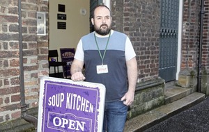 Belfast soup kitchen sees demand rise more than tenfold