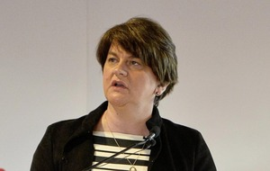 Arlene Foster stresses importance of leaving EU by October 31