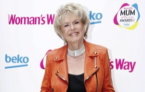 Presenter Gloria Hunniford in Dublin to receive Icon award