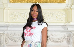 Naomi Campbell celebrates British Vogue editor's impact on industry