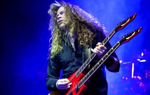 Megadeth's Dave Mustaine thanks fans for support after cancer diagnosis