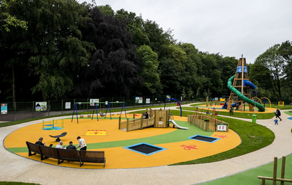 Mo Mowlam Play Park reopens after £800,000 transformation
