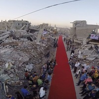 Gaza film team donate prize money to festival appeal