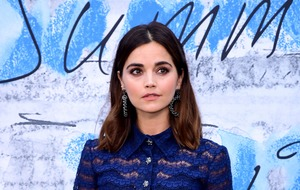 Jenna Coleman is radiant in blue at the Serpentine Summer Party