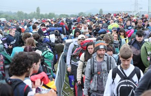 In Pictures: Revellers arrive ahead of Glastonbury Festival