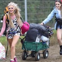 Music fans set up camp as Glastonbury Festival opens gates
