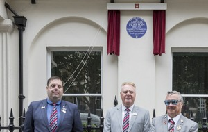 English Heritage blue plaque commemorates founder of St Dunstan's