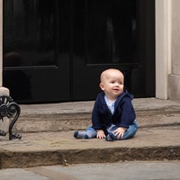 Politics is child's play for baby William