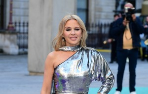 Kylie Minogue admits she will shed a tear during Glastonbury performance