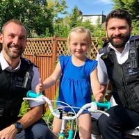 Halfords rides to the rescue after five-year-old's bike stolen
