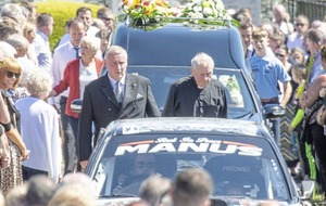 Rally driver Manus Kelly left a smile wherever he went
