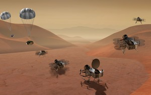Nasa to send spacecraft to Saturn's largest moon Titan