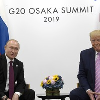Don't meddle in the election, Trump warns Putin jokingly