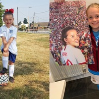Girls around England inspired to play football by Lionesses' success