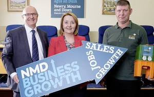 100 businesses sign up to growth programme in Newry