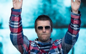 Liam Gallagher mixes solo songs with Oasis classics during Glastonbury set