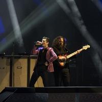 The Killers off to fast start for Glastonbury headline slot