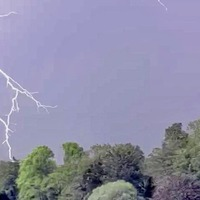 Electrifying spectacle but thunderstorm cuts power to thousands