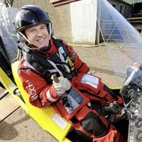 Co Antrim man Norman Surplus becomes first to fly around world in an autogyro