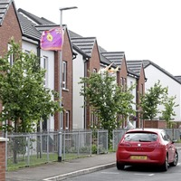 Calls for action after UVF flags erected again at Cantrell Close