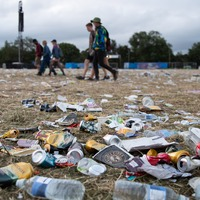 In Pictures: Clean-up under way after sun-soaked Glastonbury