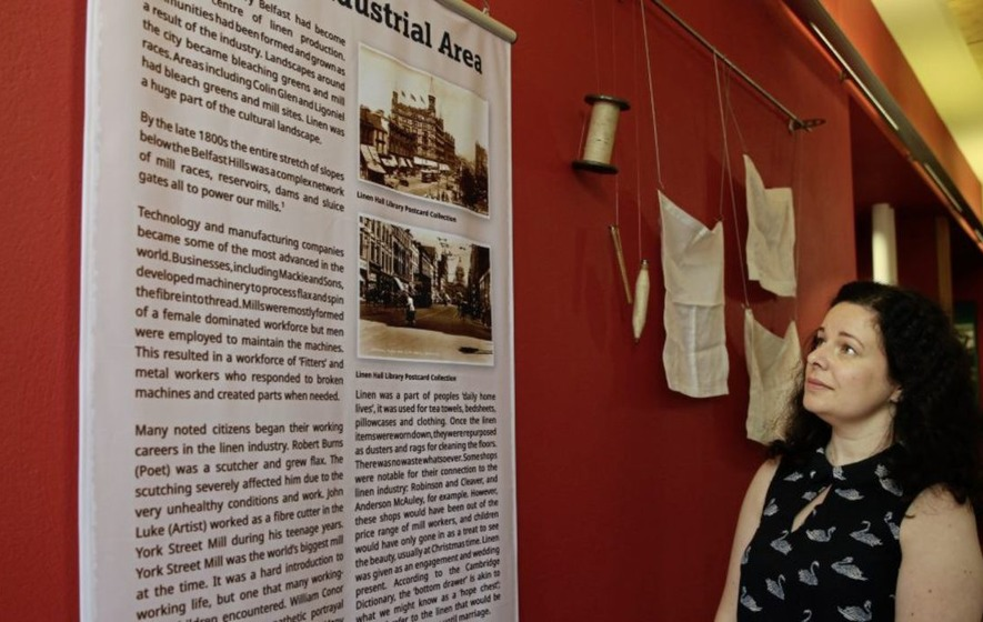 New Linen Hall library exhibition on Belfast's 'Linenopolis' past