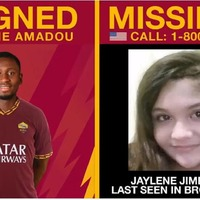 Roma use transfer publicity to raise awareness of missing children