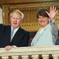 Boris Johnson uses Belfast visit to slam EU over border backstop 'moral blackmail'