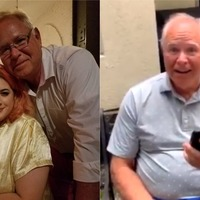 Grandfather gets the chance to meet his favourite performer – Lady Gaga
