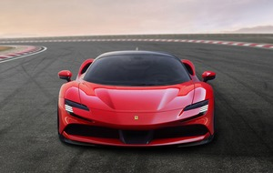 Ferrari's first 'green' car is a 1,000 horsepower plug-in hybrid...