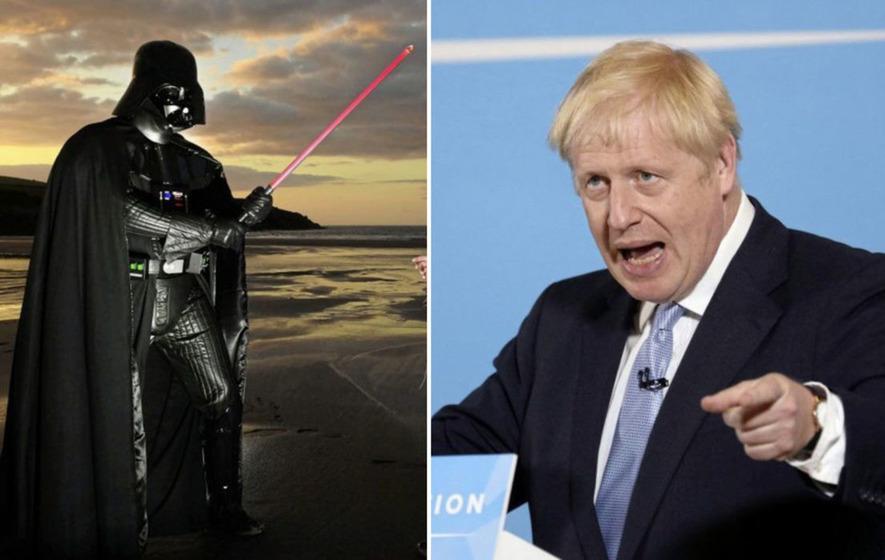 Boris Johnson says he identifies with Jedi Knights