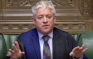 Commons Speaker John Bercow to stand down as an MP at next election